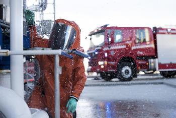 Arbeid med gassledning