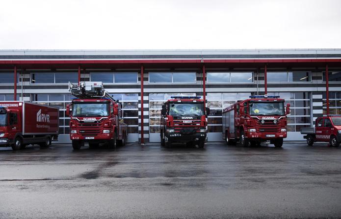 Brannbiler, Salten Brann
