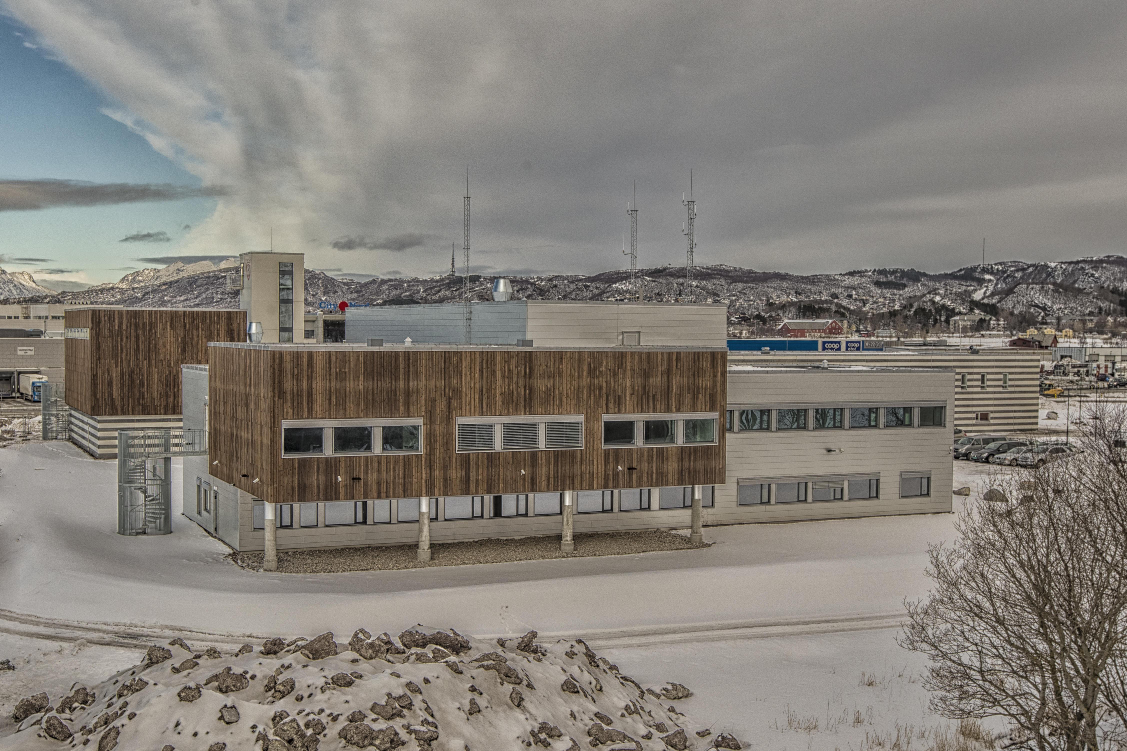Bilde av Brannstasjon Bodø fra sør